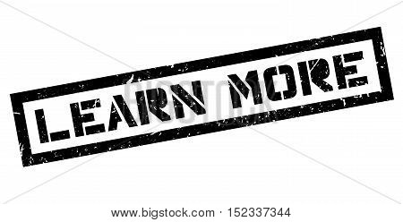 Learn More Rubber Stamp
