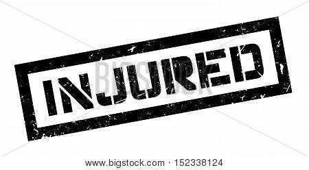 Injured Rubber Stamp