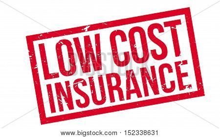 Low Cost Insurance Rubber Stamp