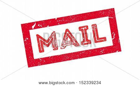Mail Rubber Stamp