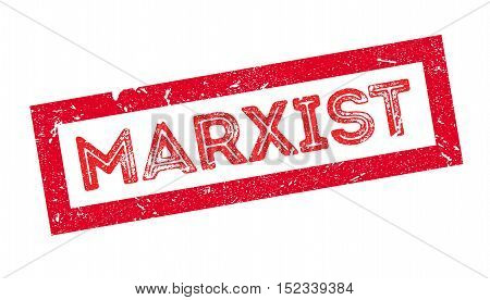 Marxist Rubber Stamp