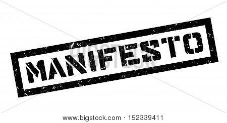 Manifesto Rubber Stamp