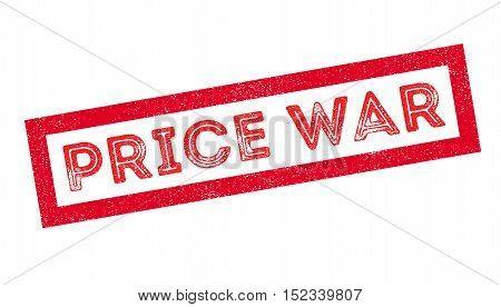 Price War Rubber Stamp