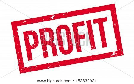 Profit Rubber Stamp