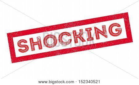 Shocking Rubber Stamp