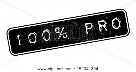 100 Percent Pro Rubber Stamp