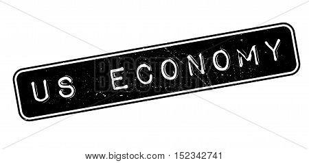 Us Economy Rubber Stamp