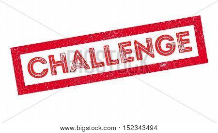 Challenge Rubber Stamp