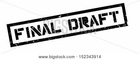 Final Draft Rubber Stamp