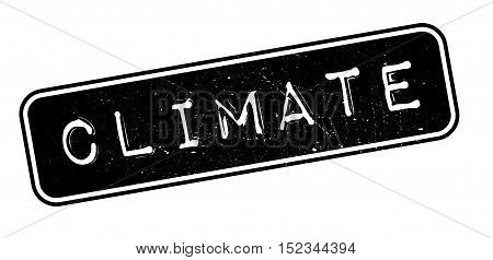 Climate Rubber Stamp