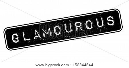 Glamourous Rubber Stamp