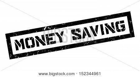 Money Saving Rubber Stamp