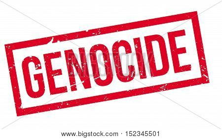 Genocide Rubber Stamp