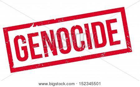 Genocide Rubber Stamp