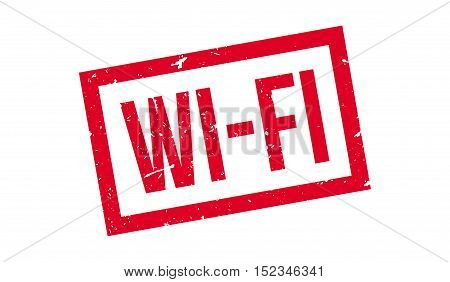 Wi-fi Rubber Stamp