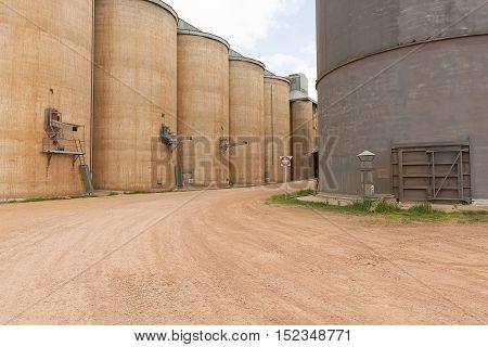 Grain Silos Grong Grong Nsw