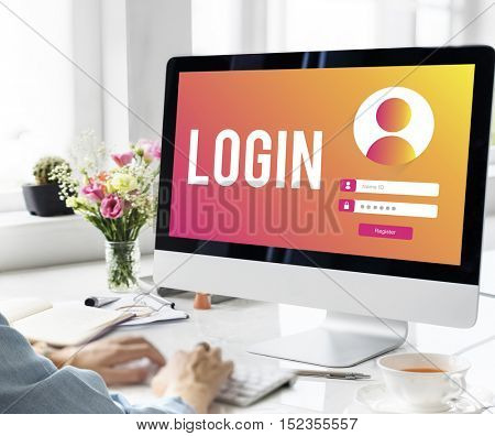 LogIn User Password Privacy Concept