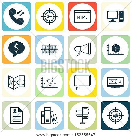 Set Of 16 Universal Editable Icons For Airport, Human Resources And Education Topics. Includes Icons