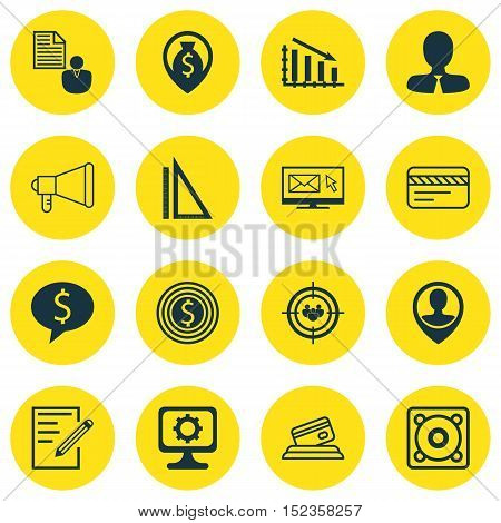 Set Of 16 Universal Editable Icons For Airport, Statistics And Project Management Topics. Includes I