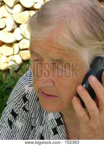 Talking With A Mobile Phone
