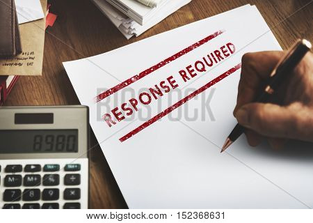 Response Request Required Feedback Information Concept