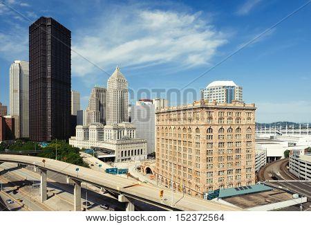 Pittsburgh skyline, Pennsylvania
