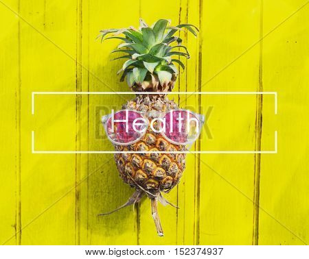 Health Active Nutrition Physical Vitality Concept