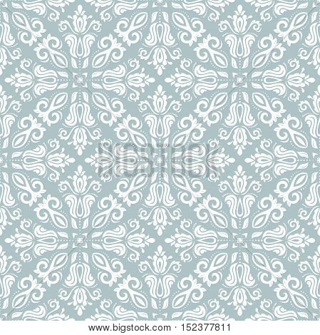Oriental classic pattern. Seamless abstract background with repeating elements