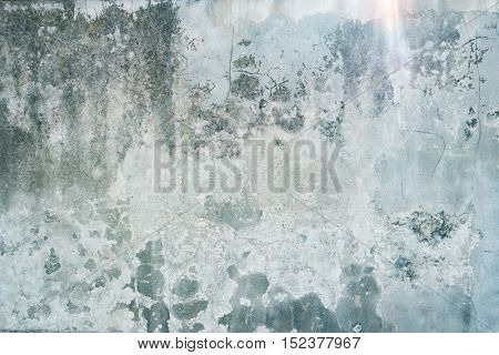 Ruined grunge wall background texture
