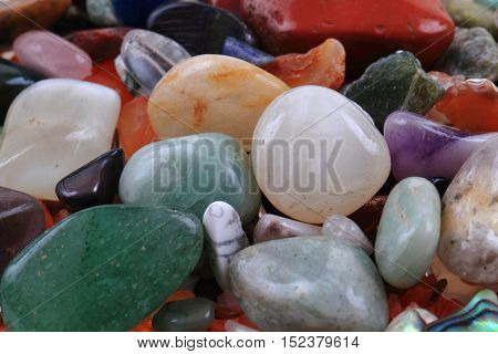 Natural Color Gems Texture