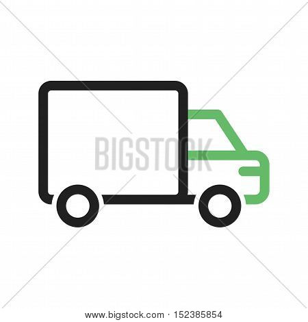 Truck, delivery, logistics icon vector image. Can also be used for vehicles. Suitable for use on web apps, mobile apps and print media.