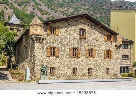 Old Parliament of Andorra - Casa de la Vall