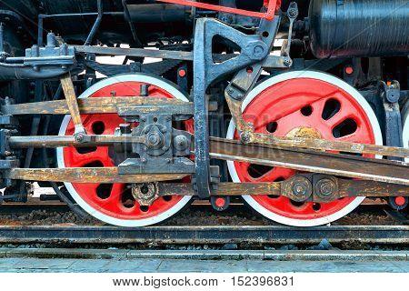 Fast-track the old wheels on rail tracks.