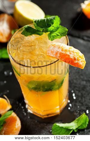 Freshness Mojito with Tangerine and Mint