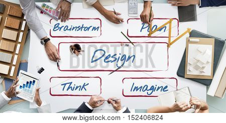 Design Be Creative Fresh Ideas Inspire Concept