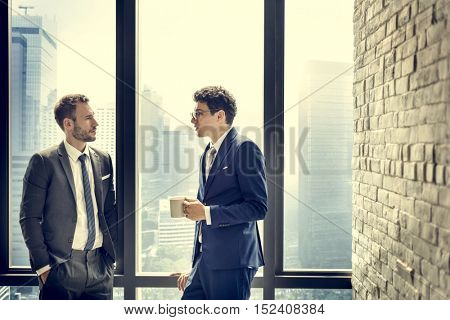 Co-workers Colleagues Company Businessman Concept
