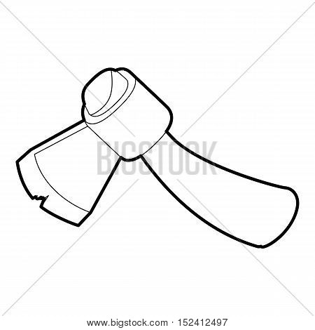 Axe icon. Outline illustration of axe vector icon for web