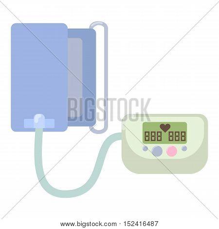 Tonometer icon. Flat illustration of tonometer vector icon for web
