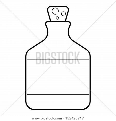 Ethanol in bottle icon. Outline illustration of ethanol in bottle vector icon for web isolated on white background
