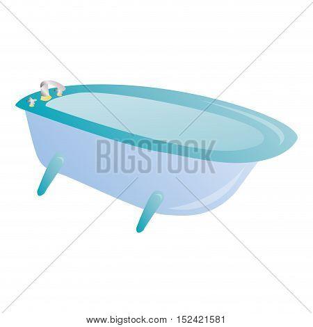 Isolated Bath Tub