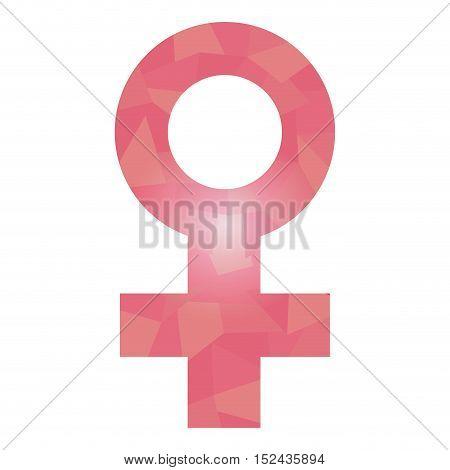 Isolated Women Symbol