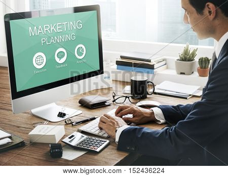 Marketing Planning Branding Feedback Concept