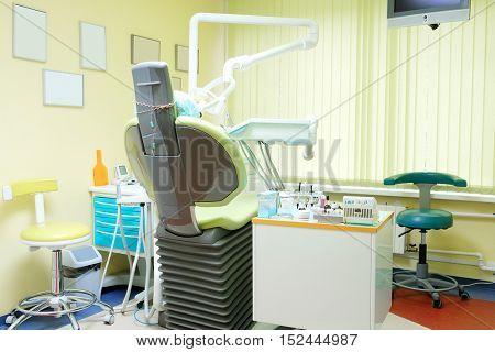 Interior of a stomatologic office