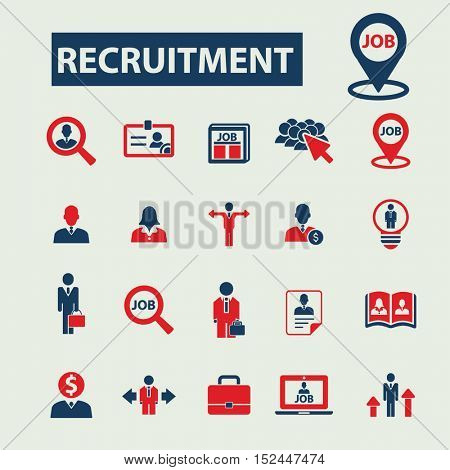 recruitment icons