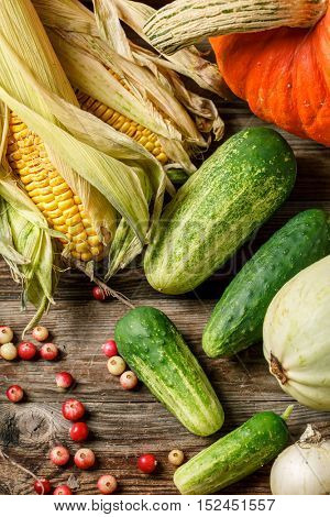 Various vegetables background