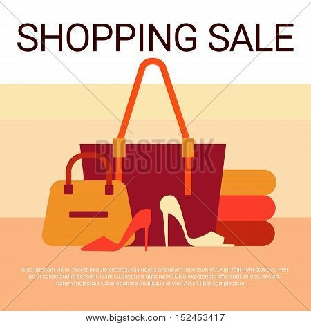 Megaphone Black Friday Big Sale Holiday Shopping Banner Copy Space Vector Illustration