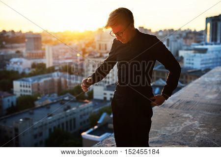 Stylish, Trendy Boy Fashion Clothing , Roof Glasses
