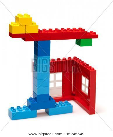 blue crane build red house