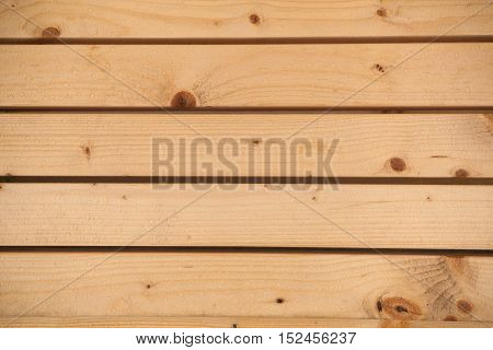Wooden boards with water drops on it