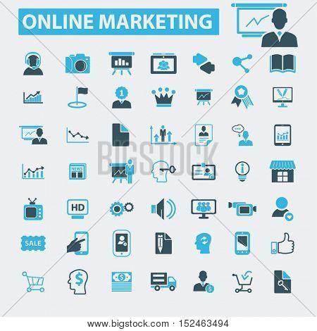 online marketing icons